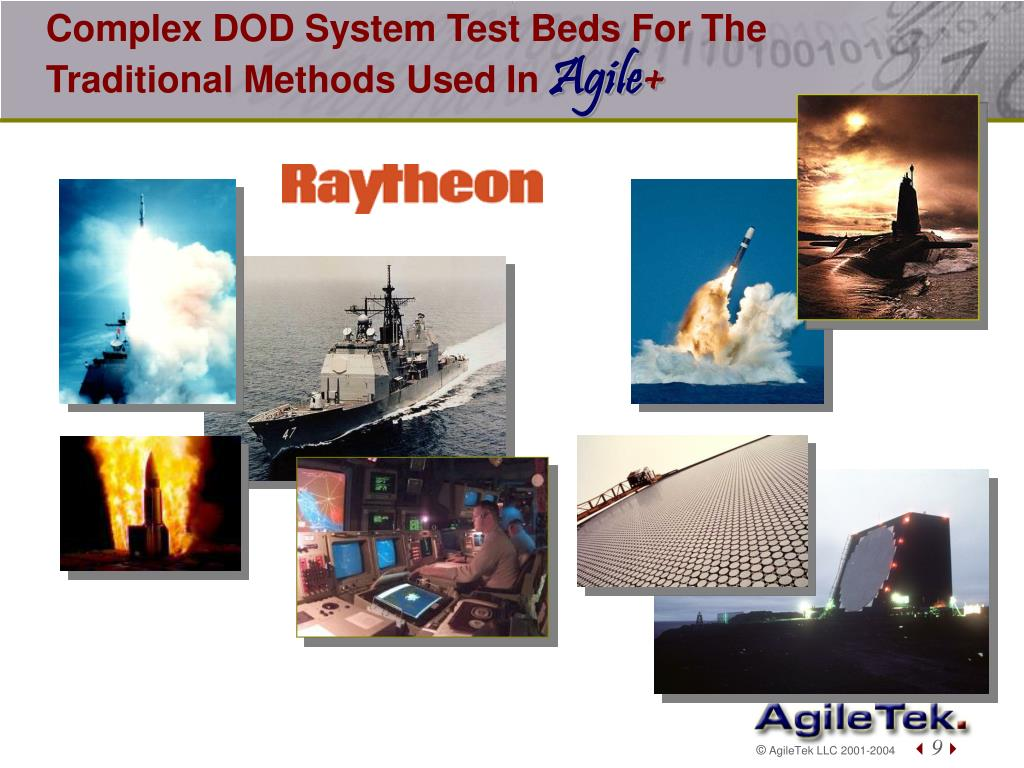 Complex DOD System Test Beds For The Traditional Methods Used In