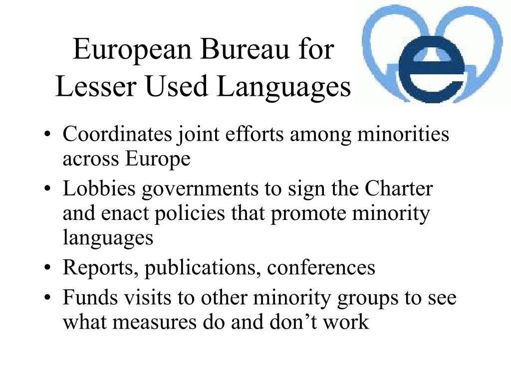 European Bureau for