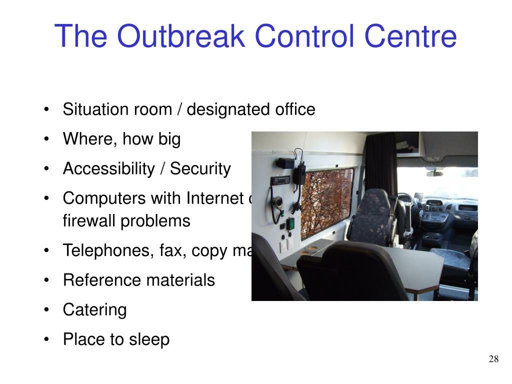 The Outbreak Control Centre