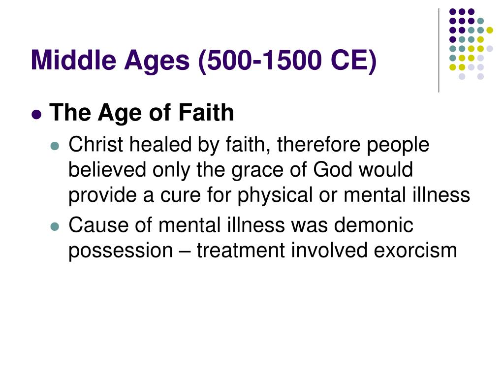 Middle Ages (500-1500 CE)