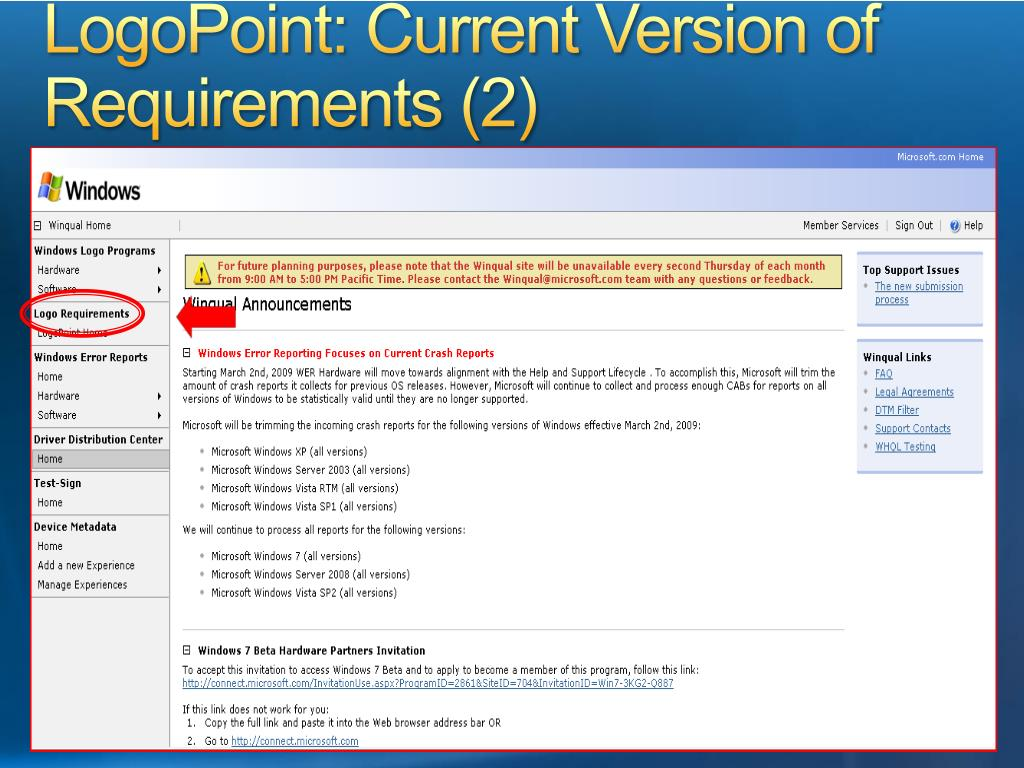 LogoPoint: Current Version of Requirements (2)