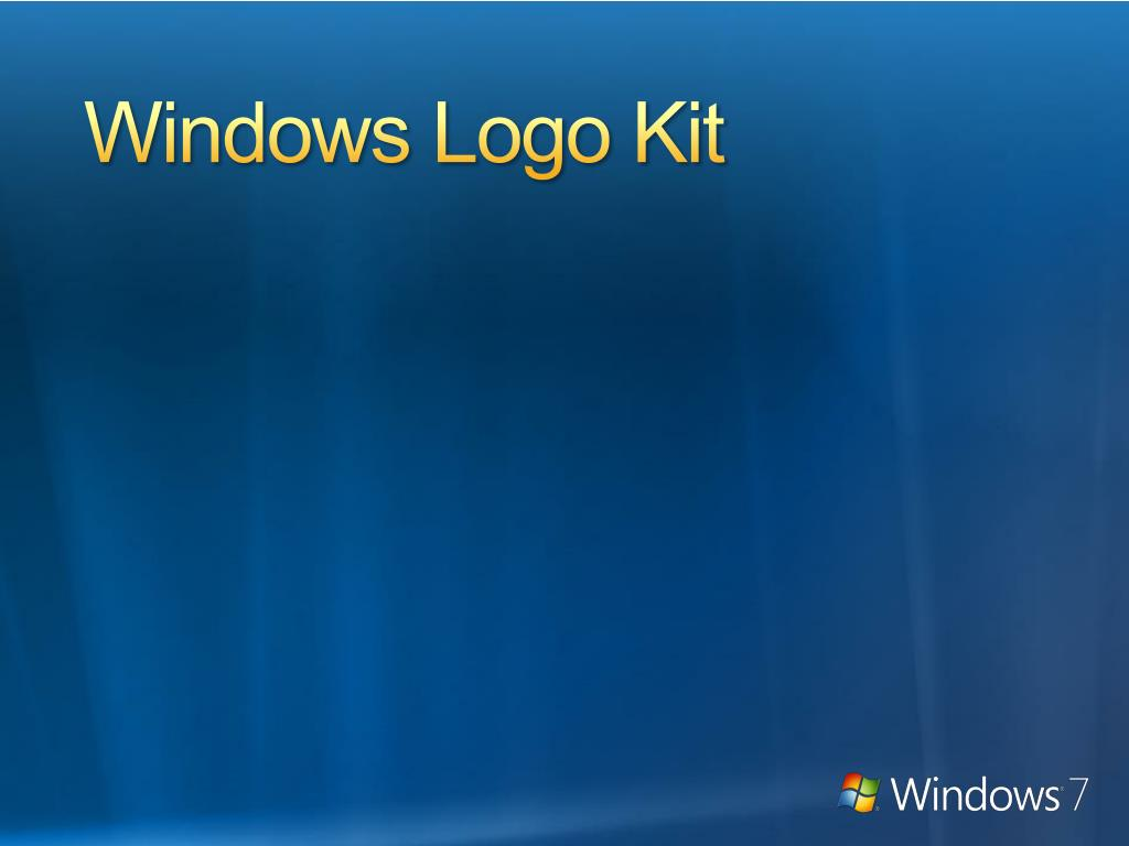 Windows Logo Kit