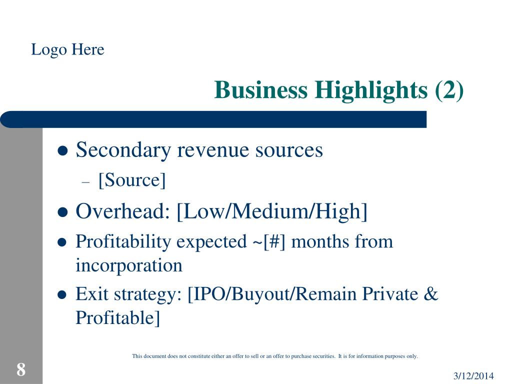 Business Highlights (2)