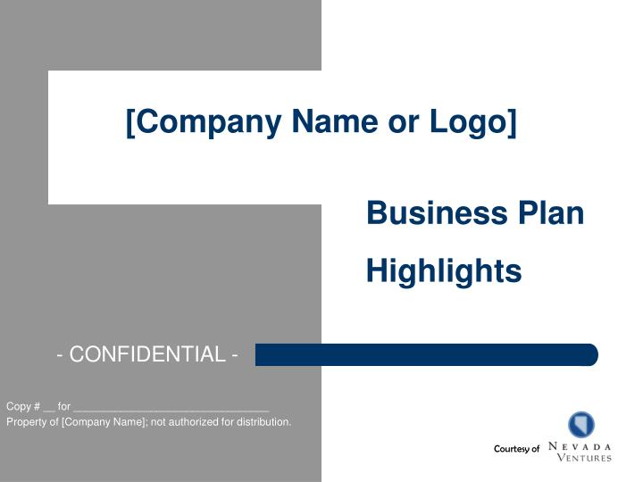 Company name or logo