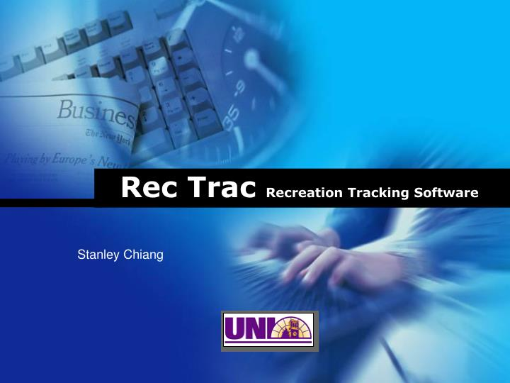 rec trac recreation tracking software n.