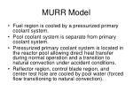 murr model