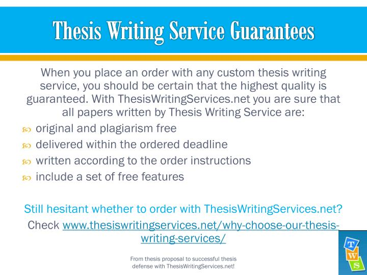 thesis writing service Mydissertations - your dissertation writing service we understand dissertation content from start to finish this includes the abstract, introduction, research question, literature review, methodology, discussion, thesis, research proposal, and other details.