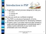 introduction to psp5