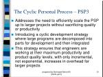 the cyclic personal process psp3
