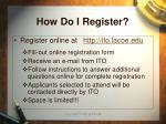 how do i register