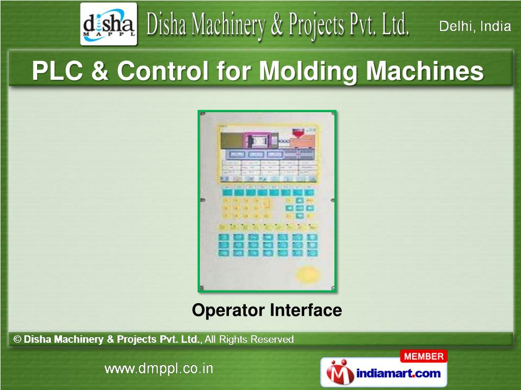 PLC & Control for Molding Machines