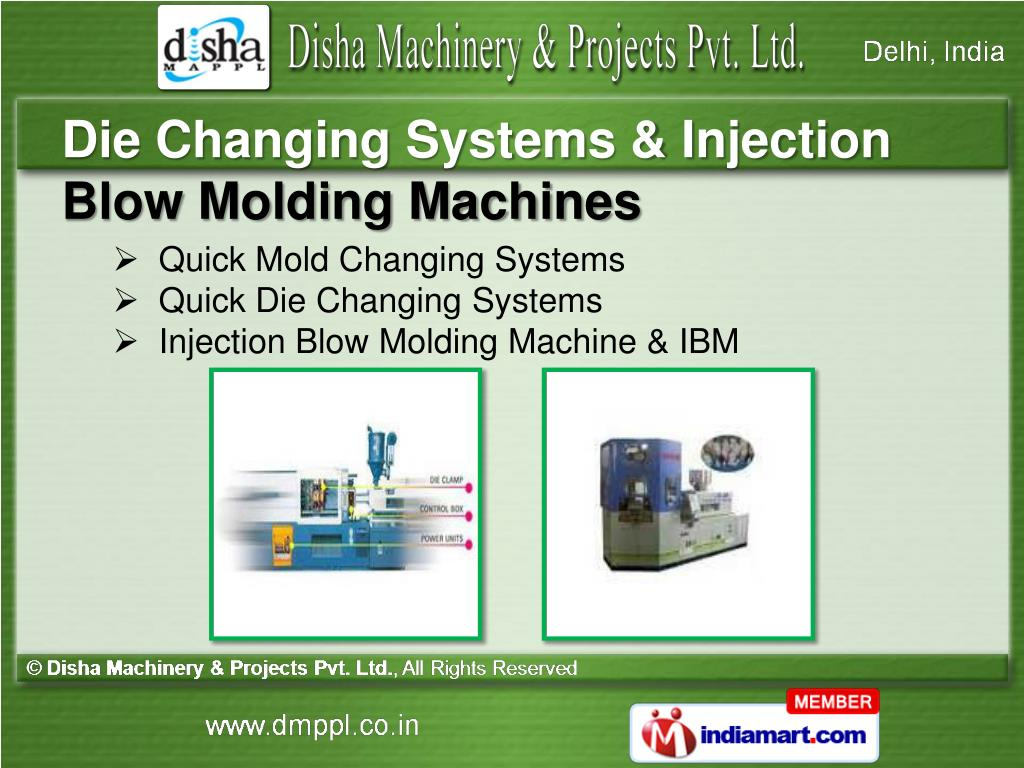 Die Changing Systems & Injection