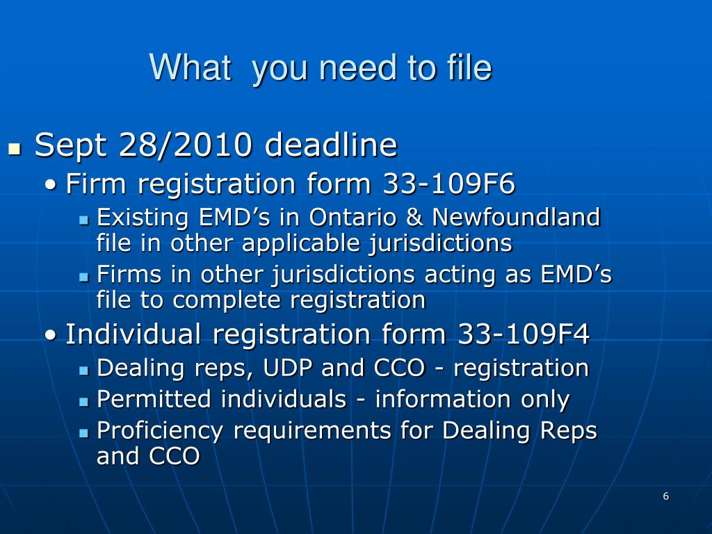 What  you need to file