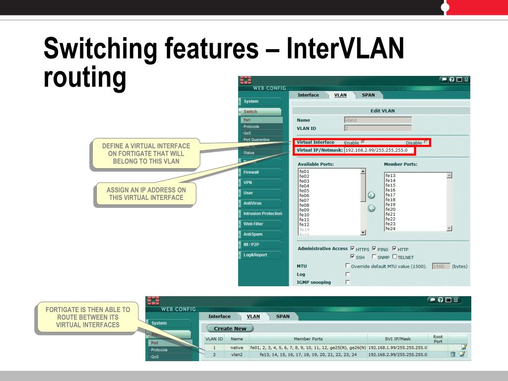 PPT - Securing the LAN - FortiGate solution PowerPoint