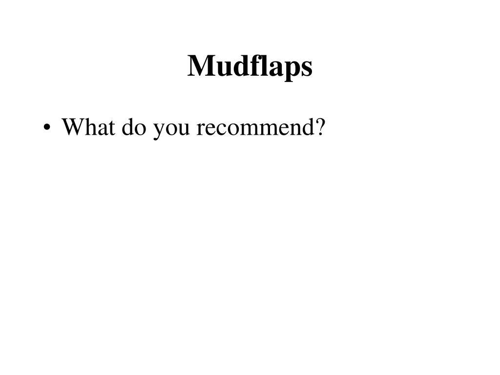 Mudflaps