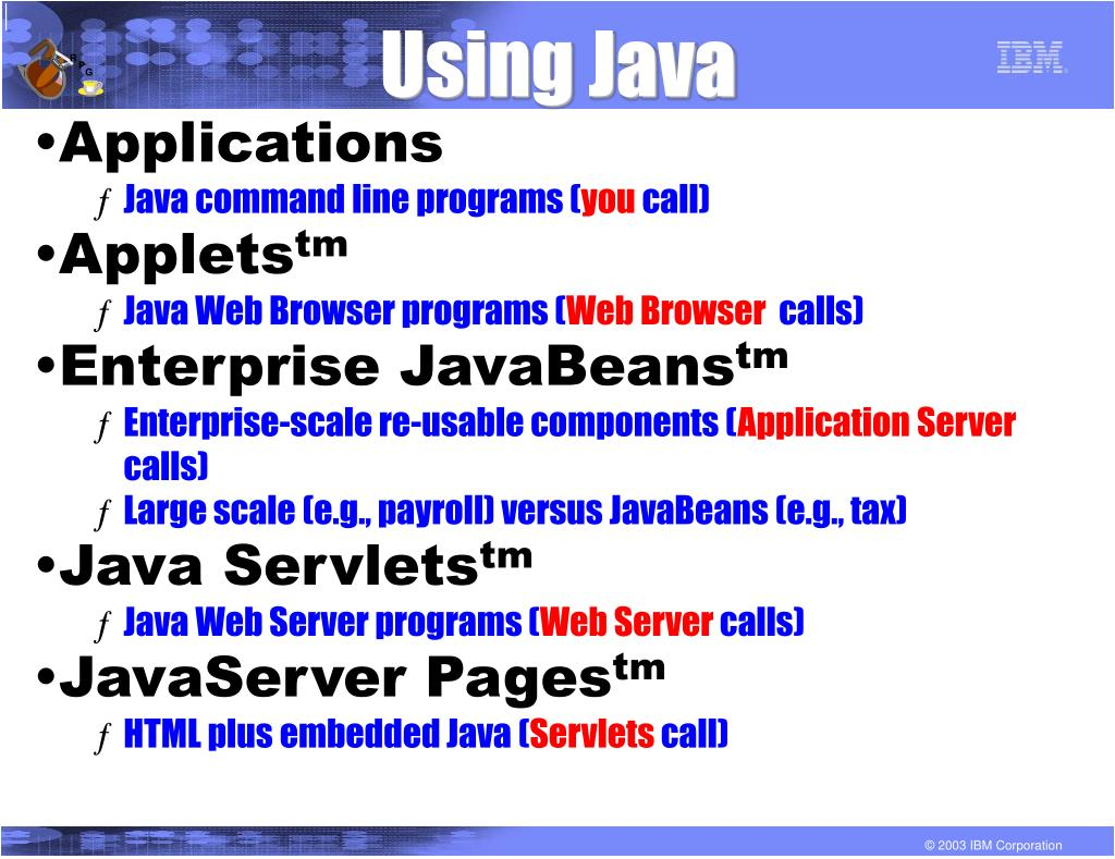 Using Java