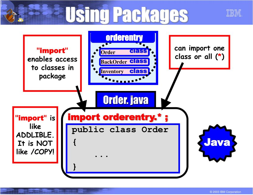 Using Packages