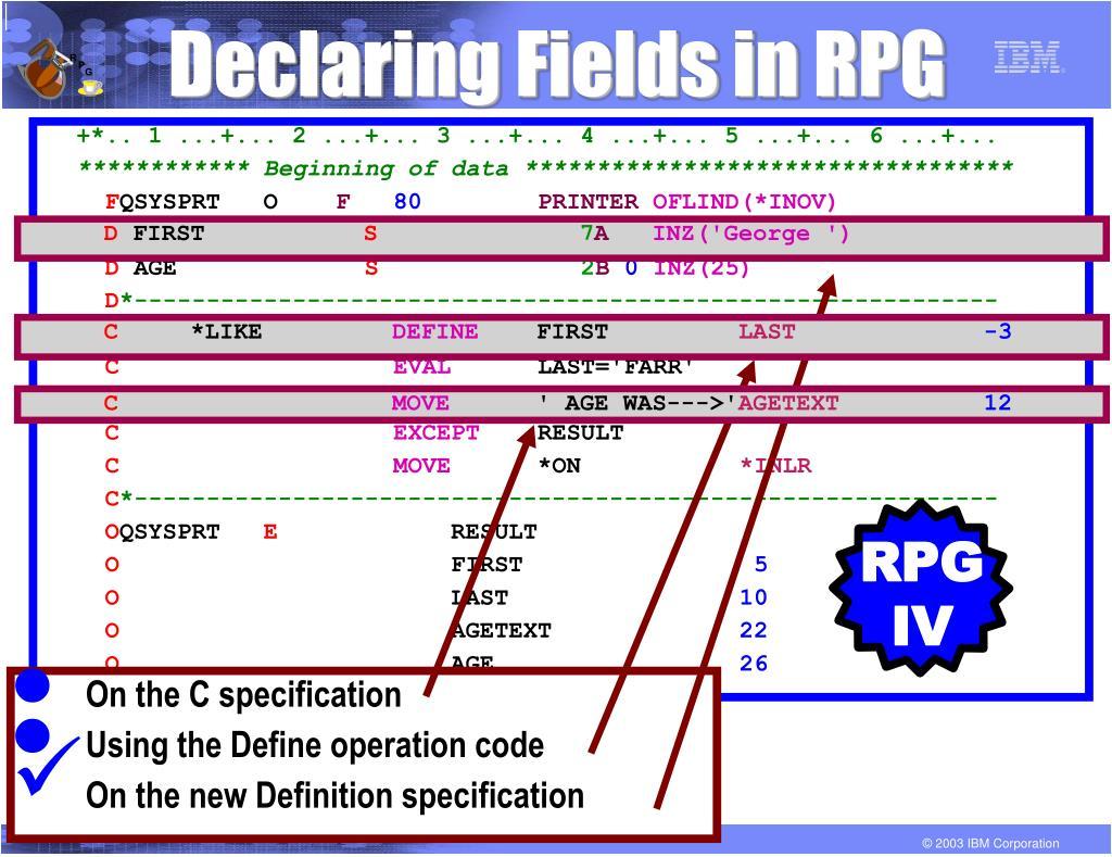 RPG IV