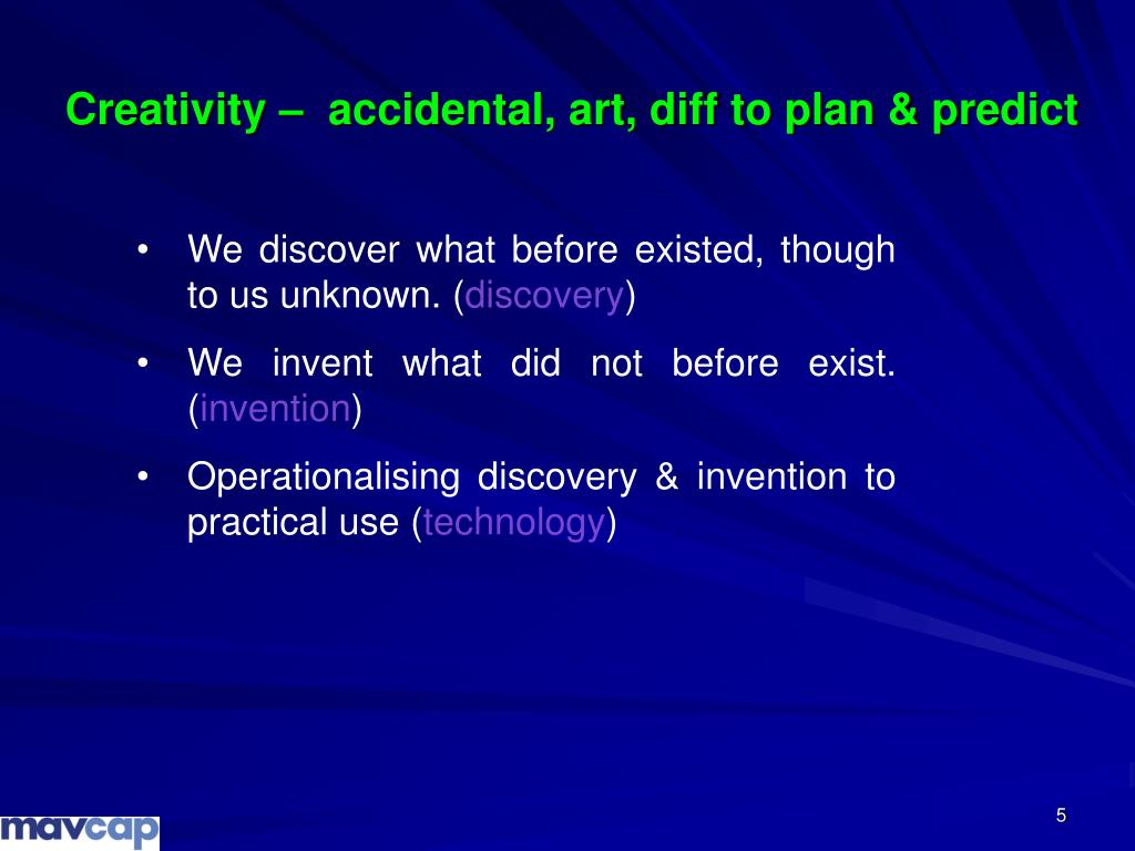 We discover what before existed, though to us unknown. (