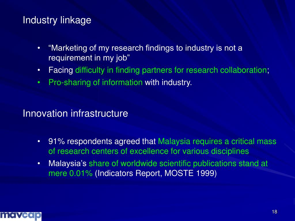 Industry linkage