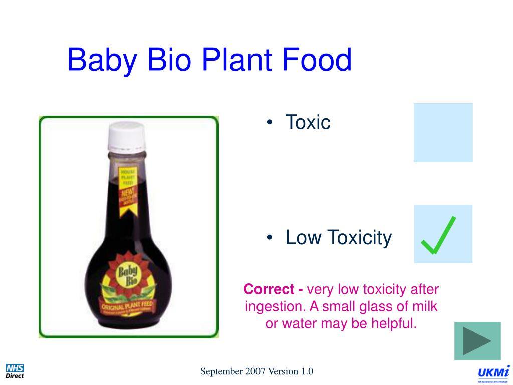 Baby Bio Plant Food