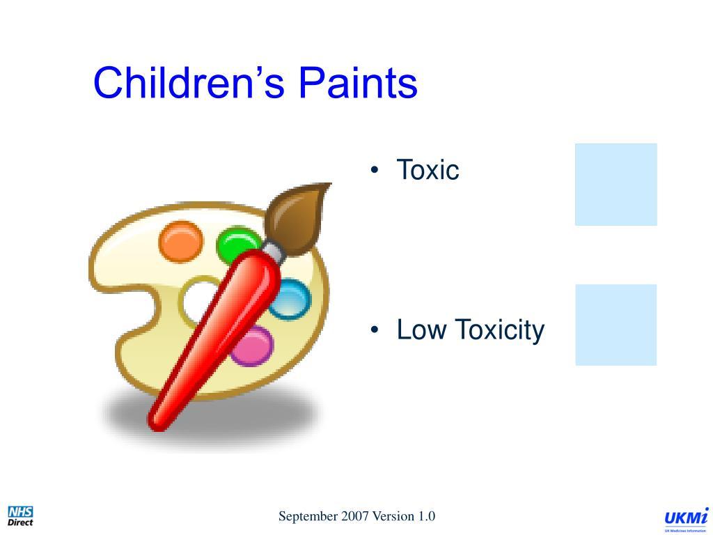 Children's Paints