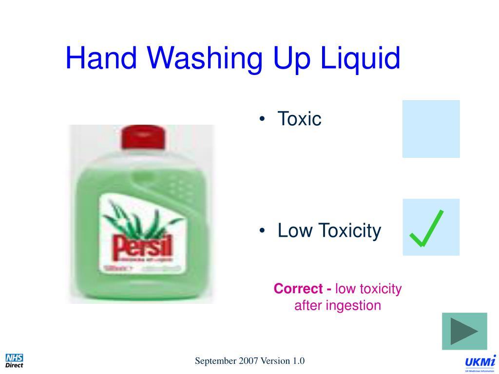 Hand Washing Up Liquid