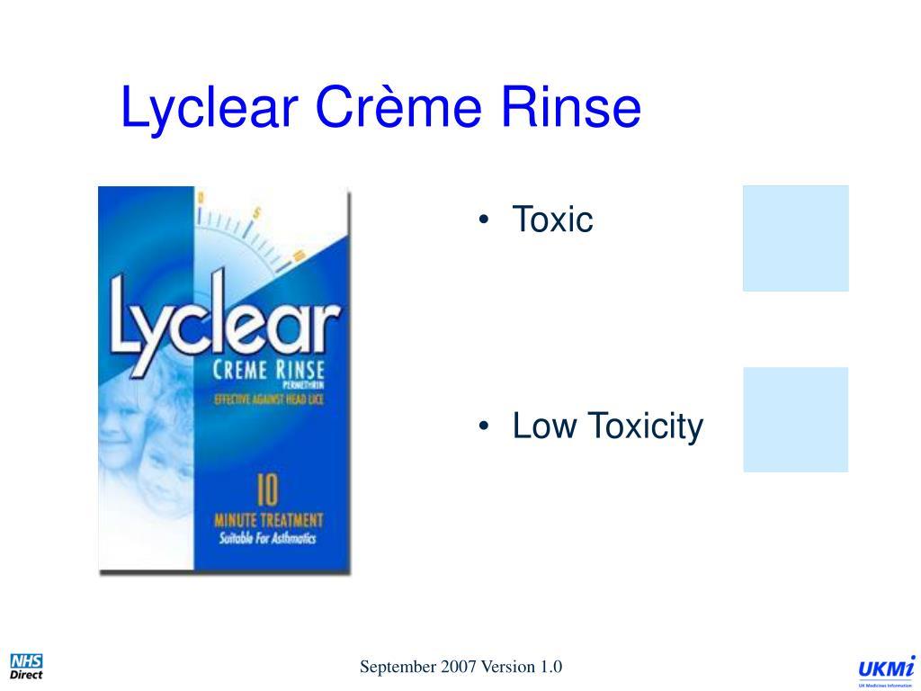 Lyclear Crème Rinse