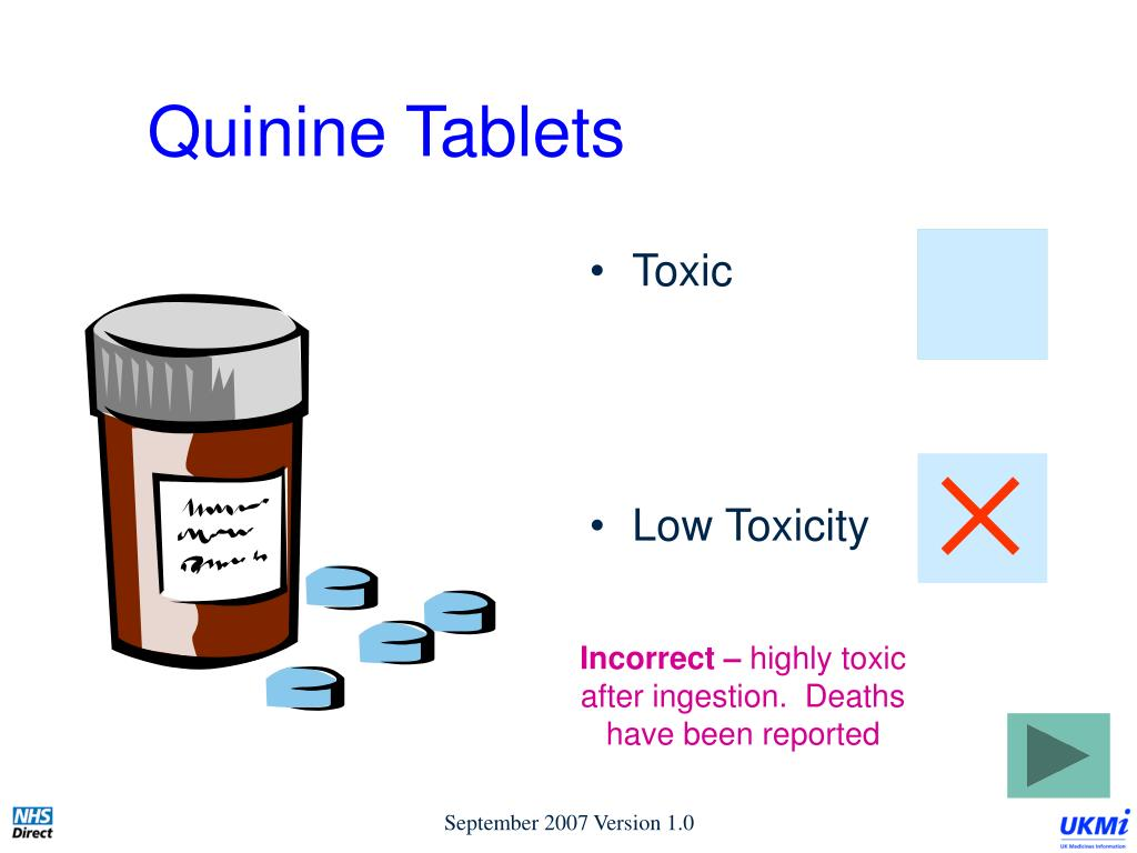 Quinine Tablets