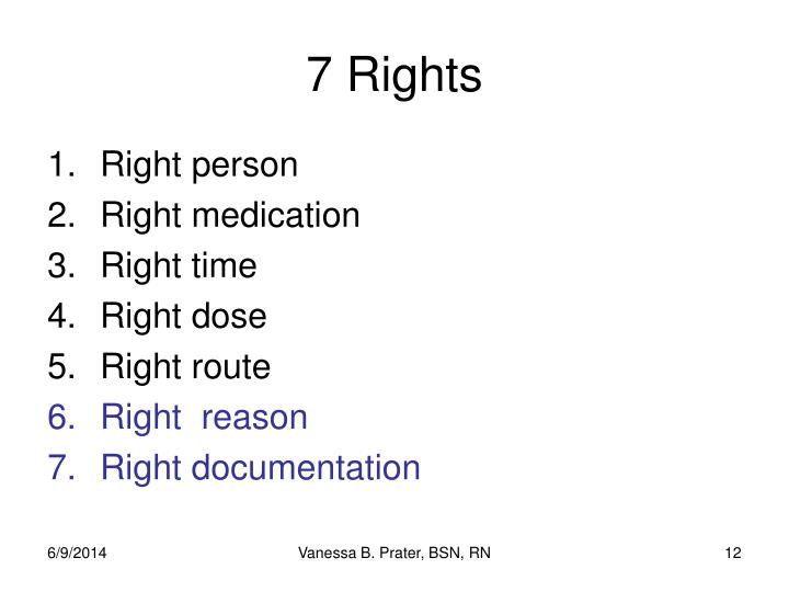 7 Rights
