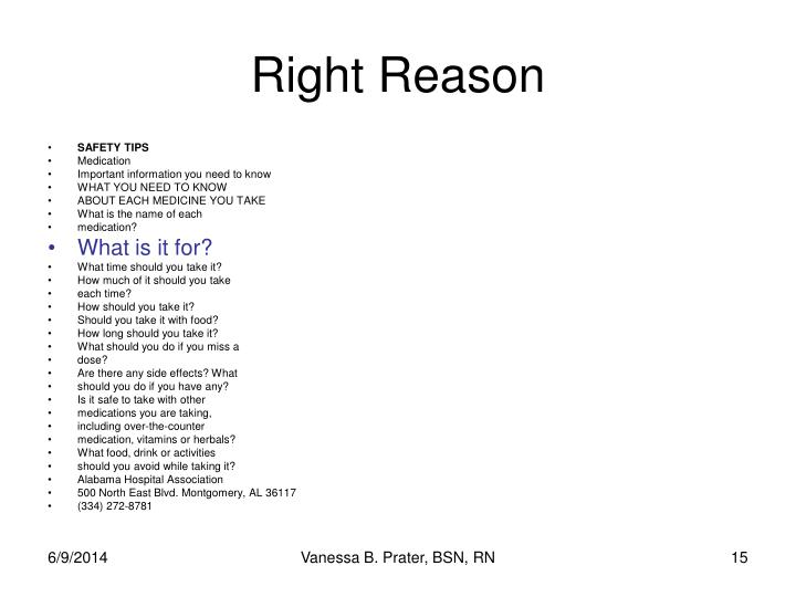 Right Reason