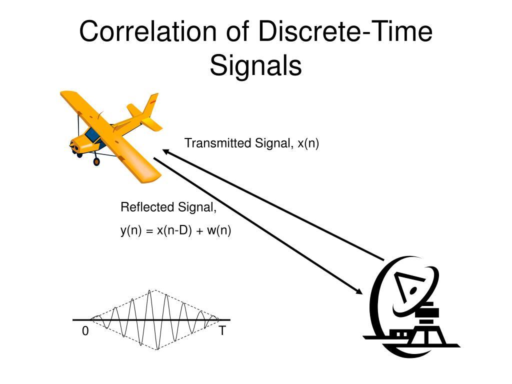 correlation of discrete time signals l.
