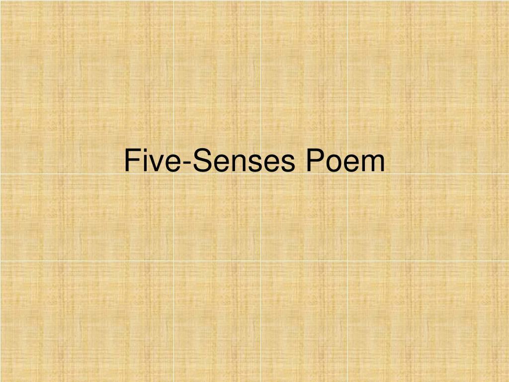 Five-Senses Poem