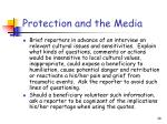 protection and the media