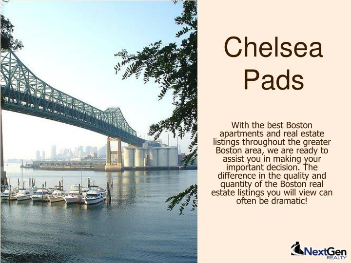 Chelsea pads