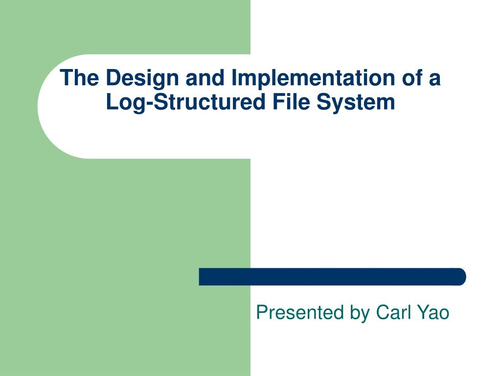 design and implementation of a Understanding the design and implementation of controls in smaller audits: why and how risk assessment is key to an isa-compliant audit, as highlighted in recent icaew quality.