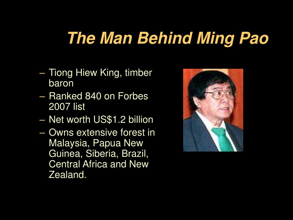 The Man Behind Ming Pao
