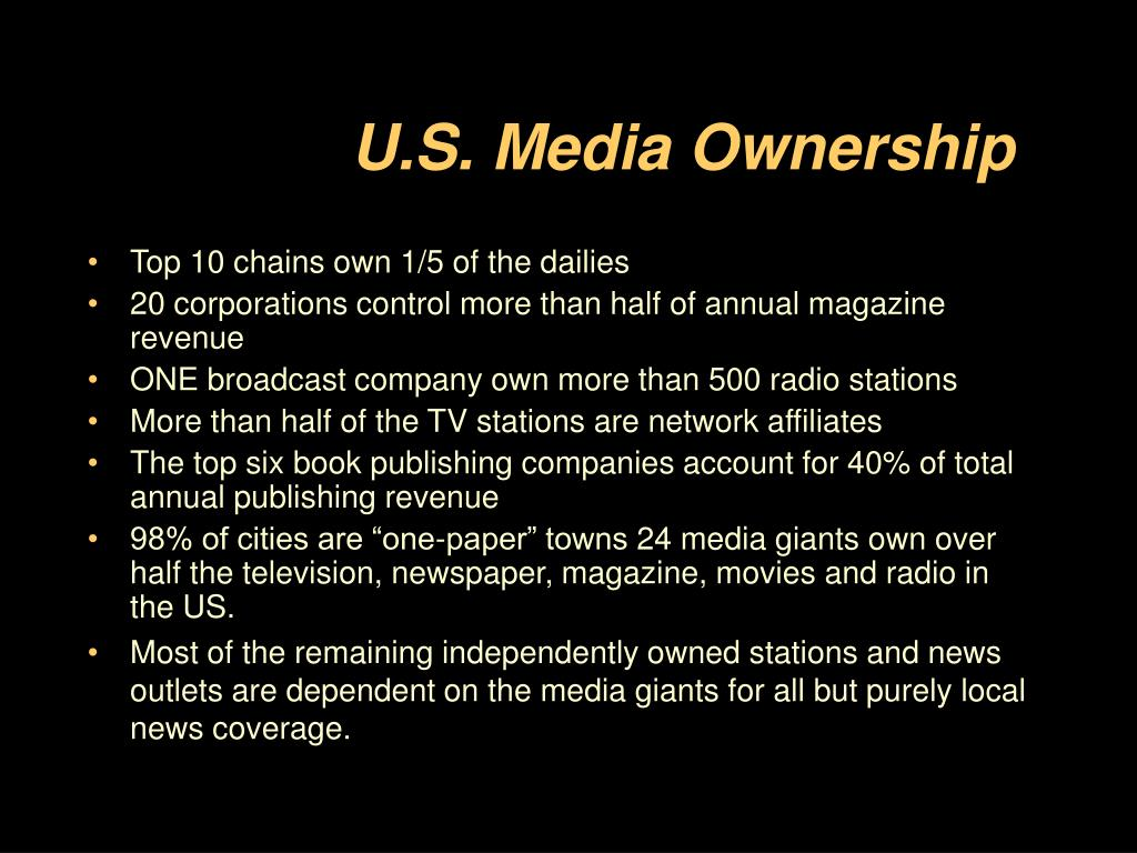 U.S. Media Ownership