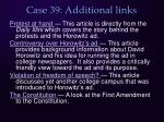 case 39 additional links