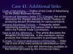 case 41 additional links