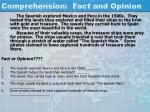 comprehension fact and opinion13