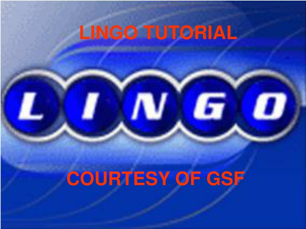 Lingo Download
