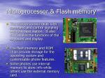 microprocessor flash memory