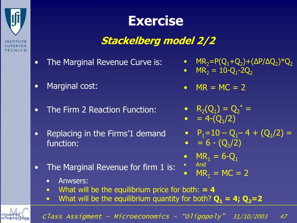 The Marginal Revenue Curve is: