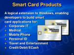 smart card products