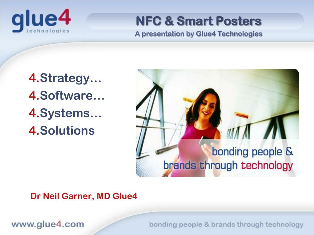 nfc smart posters l.