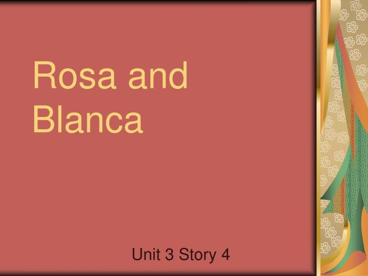 rosa and blanca n.