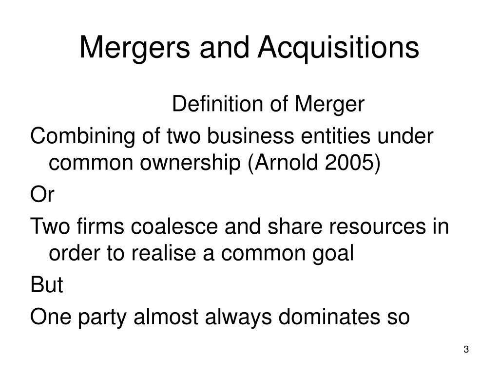 mergers and acqusitions Scroll down to see which companies played a part in the biggest mergers and acquisitions of the year: deal value, courtesy of dealogic, also includes the.