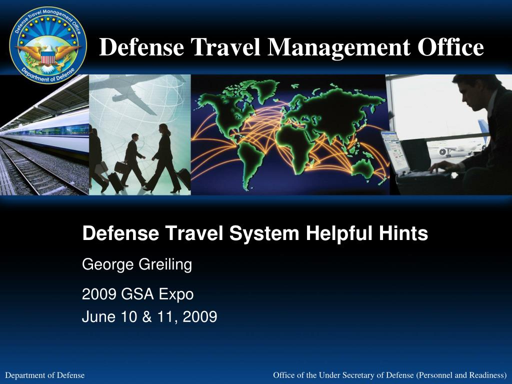defense travel system helpful hints l.