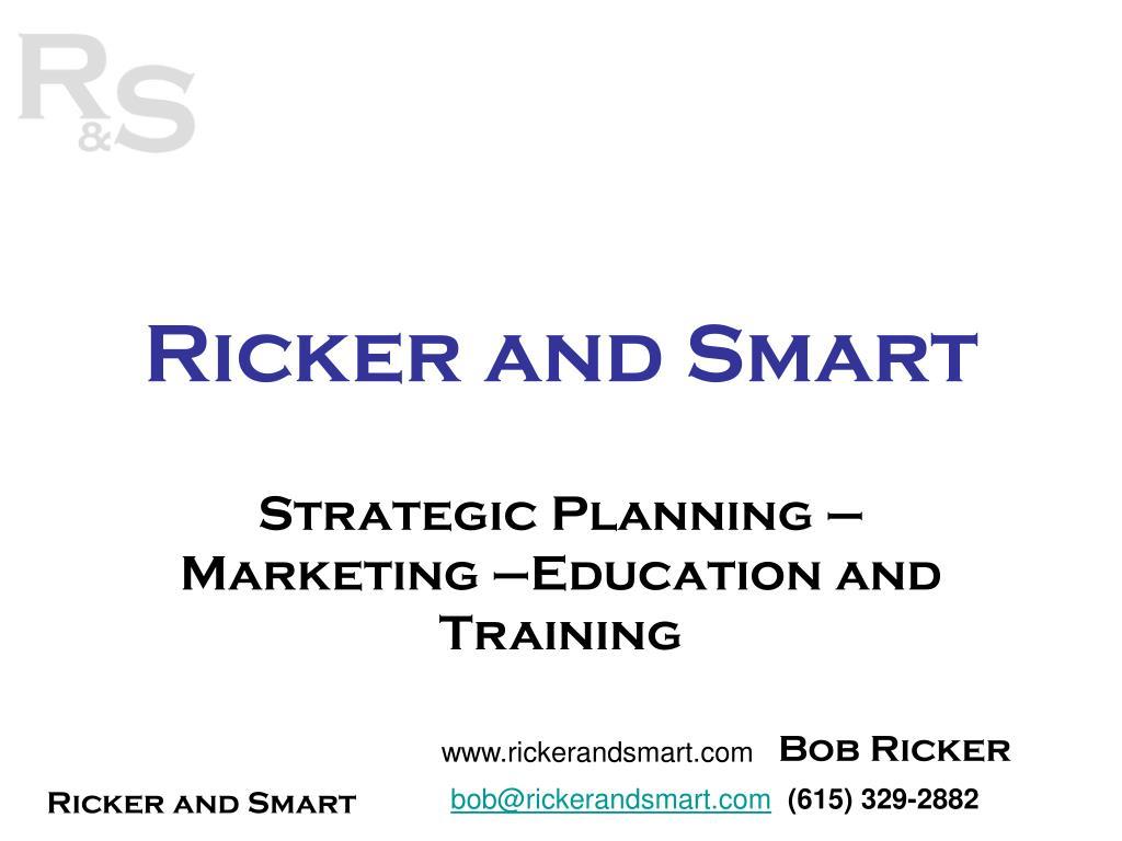 ricker and smart l.
